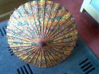 Japanese antique parasol