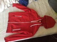 Sweatshirt Teddy Smith red