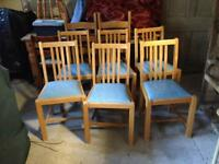 Kitchen Chairs (set of 6)