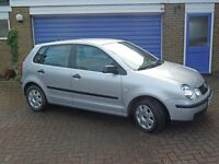 VW Polo Twist 1.4TDI 5dr 2004 with factory-fitted extras