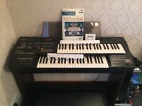 Yamaha Electone HC-2 Organ & Stool in mint condition