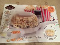 Giles and poster popcorn maker
