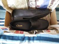 Clark Black Shoes Size 6 (UK)