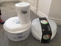 Baby Bundle Sterilisers Seat and Nappy Disposal Bin