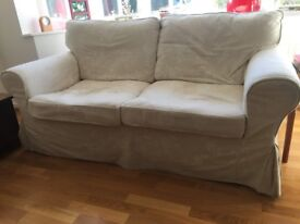 IKEA Ektorp 2-seater sofa in cream £35. Collection only from village south of Cambridge