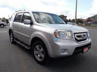 2009 Honda Pilot 7pass. 4X4 w/sunroof, roof-racks,running boards