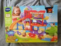 Vtech toot toot pet hotel. New in box!