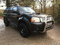 2003 Nissan navara outlaw 2.5 dci 1 owner
