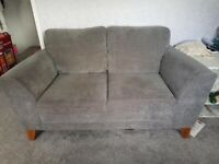 Cargo Grey 2 seater sofa. Excellent condition. Hardly used. Buyer collects.