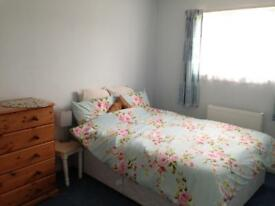 Large double room available bills included