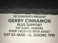 Gerry Cinnamon Tickets