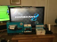 Wii U Premium Pack 32GB with 16 games including 37 inch tv