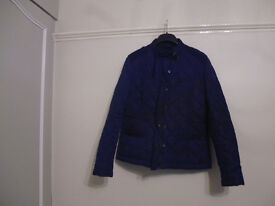 French Connection ladies lightweight quilted jacket size 14