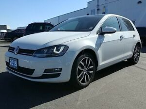 2015 Volkswagen Golf 1.8 TSI Comfortline ! LOCAL!Bi-Zenon Headli