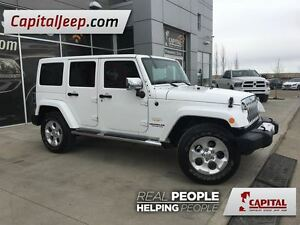 2014 Jeep Wrangler Unlimited Sahara|Heated Cloth Seats| Navigati