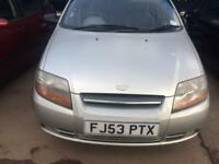 Daewoo Kalos 1.4 Petrol Mot October 2018. Car is in excellent condition