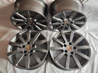 Original 19'' Porsche Cayenne Sport Turbo E alloys 9Y0 E3