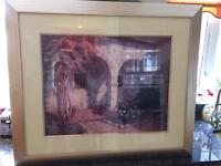 """Art by Roger William """"Monastery Arches"""" 28"""" x 22"""""""