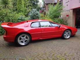 1996 Lotus Esprit S4S Turbo For Sale, looks stunning in red, great condition, lots of work done