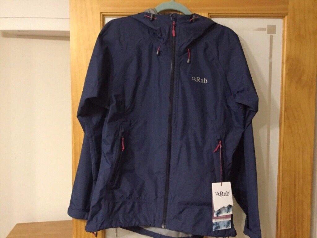 4210bffebfbb RAB Fuse Womens Waterproof jacket   Rain jacket RRP £152 - size 14