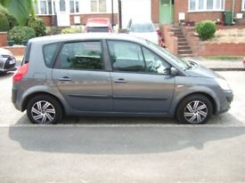 2007 RENAULT SCENIC 1.5 DCI AUTHENTIQUE DIESEL 5 DOOR, MANUAL MET GREY MOT JULY 2019
