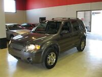 2005 Ford Escape Limited W Htd Leather seats and Sunroof
