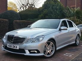 2011 MERCEDES E250 CDI SPORT AMG FULL PANORAMIC ROOF FACE LIFT MODEL MINT