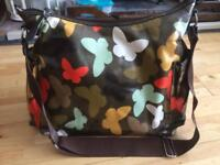 OiOi Oilcloth Baby Changing Bag