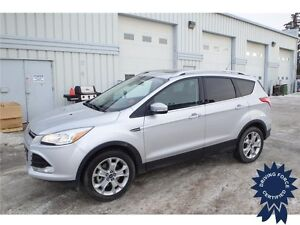 2015 Ford Escape Titanium All Wheel Drive - 23,053 KMs, 2.0L Gas