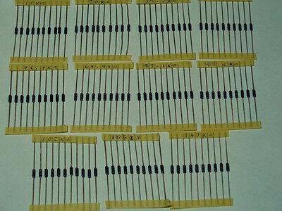 110ea Vishay Ptf-56 10 Ppm 1 High Precision Metal Film Resistor Kit Ptf56