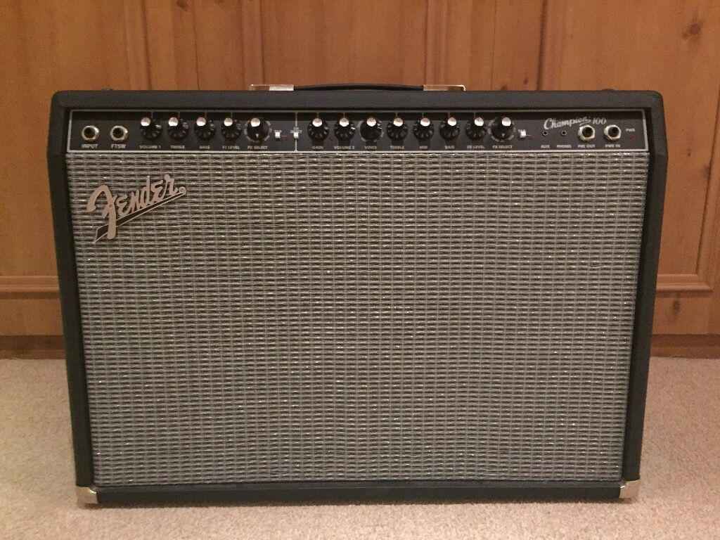 Fender Champion 100 Guitar Amplifier - Free delivery in Greater Manchester