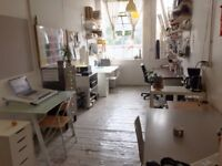 Creative Studio share, rent desk space