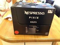 Krups Nespresso pixie coffee machine