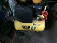 Wolf Air Apache 50 II Air compressor
