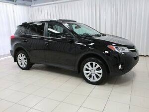 2015 Toyota RAV4 TOP OF THE LINE LIMITED TRIM WITH ALL THE BEST