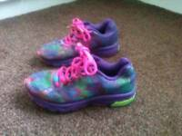 Girls size 13 trainers