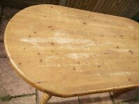CHUNKY - COTTAGE /FARMHOUSE KITCHEN TABLE WOODEN