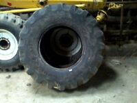 Forklift or other tyre 440/80-24 part worn