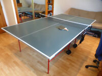 Table tennis table - full size, foldaway