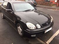 LEXUS GS300 BLACK LPG MOT TILL JULY 2017 GOOD CONDTION BLACK