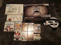 Nintendo Wii + games + extras - Glasgow Area