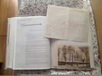 MON CHER THÉO- VINCENT VAN GOGH letters. Limited Edition. French-Spanish. 2009