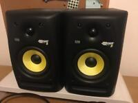 KRK Rokit 5 studio speakers