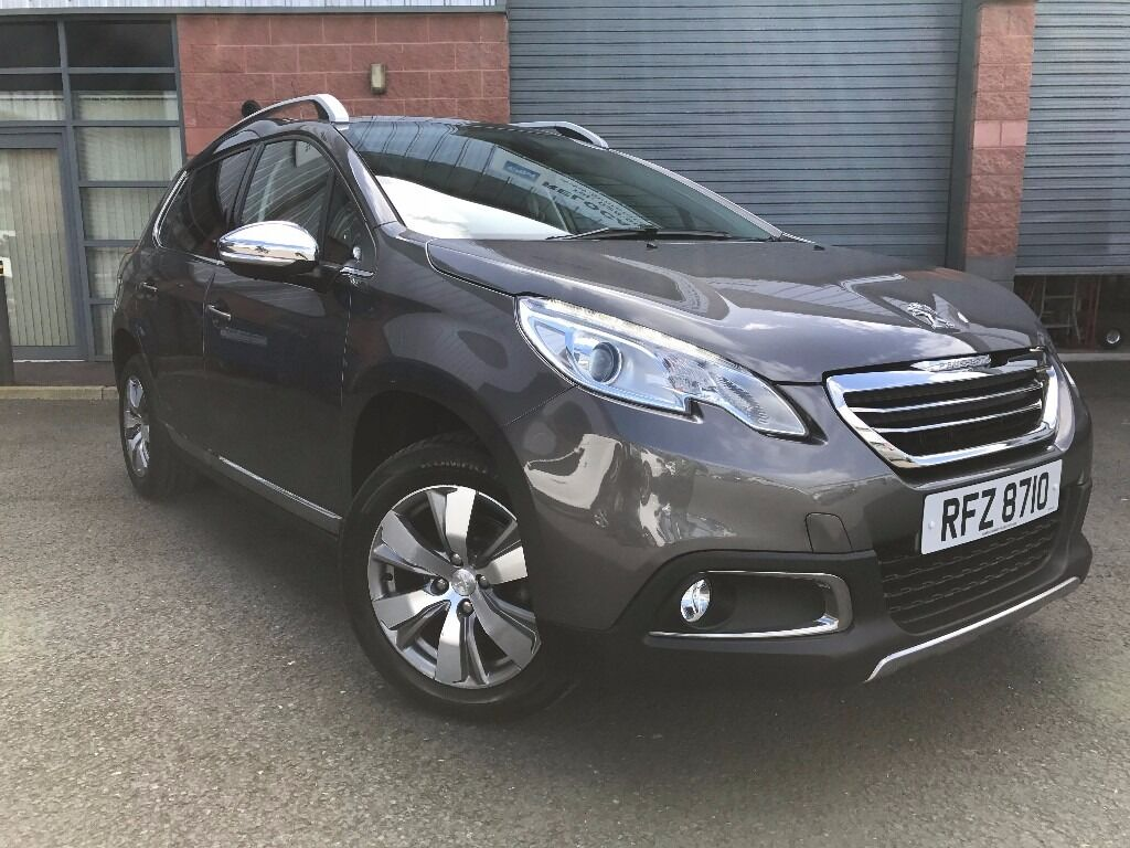 2014 peugeot 2008 crossover 1 2 vti allure in lisburn county antrim gumtree. Black Bedroom Furniture Sets. Home Design Ideas