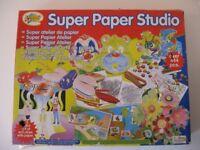 Art Attack Pack & Super Paper Studio part-used
