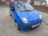 DAEWO MATIZ FULL SERVIS HISTORY VERY LOW MILEAGE