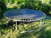 12' Trampoline - well used but really good quality