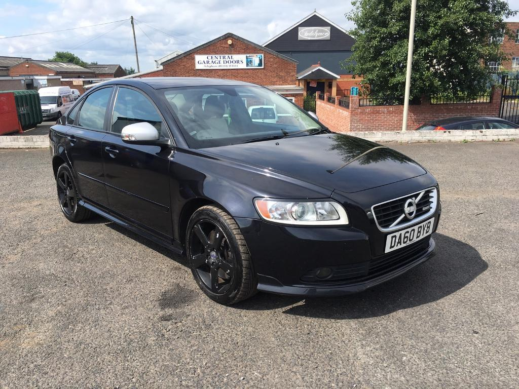 2010 60 volvo s40 r design d4 in black in dudley west. Black Bedroom Furniture Sets. Home Design Ideas