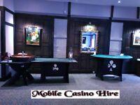 Fun Casino Entertainment for Parties Christmas Birthdays Weddings