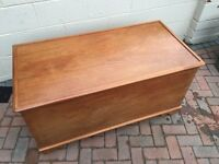 Storage Chest, Toy Box, Coffee Table, Pine Chest, Blanket Box - Many Uses
